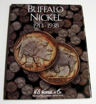 H.E. HARRIS   N/A Buffalo Nickel 1913-1938 Coin Folder HEH2678