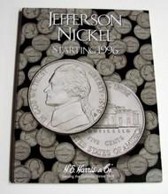 H.E. HARRIS   N/A Jefferson Nickel 1996-2002 Coin Folder HEH2681