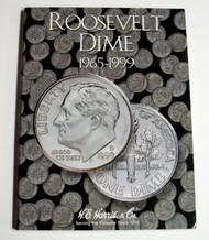 H.E. HARRIS   N/A Roosevelt Dime 1965-1999 Coin Folder HEH2685