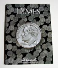 H.E. HARRIS   N/A Dimes Plain Coin Folder HEH2686