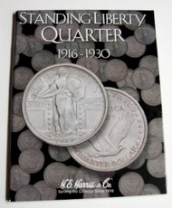 H.E. HARRIS   N/A Standing Liberty Quarter 1916-1930 Coin Folder (D)<!-- _Disc_ --> HEH2687