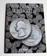 H.E. HARRIS   N/A Washington Quarter 1948-1964 Coin Folder HEH2689