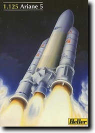 Heller  1/125 Ariane 5 Rocket and Boosters HLR80441