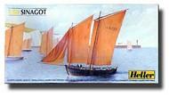 Heller  1/60 Sinagot 2-Masted Sailing Ship HLR80605