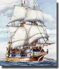 Heller  1/200 Spanish Galleon Sailing Ship HLR80835