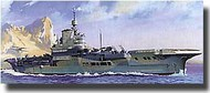 Heller  1/400 HMS Illustrious Aircraft Carrier HLR81089