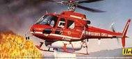 Heller  1/50 Ecureuil Firefighter Helicopter HL0485