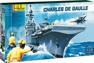 Heller  1/400 Charles De Gaulle French Aircraft Carrier HLR52905