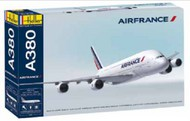 Heller  1/125 A380 Air France Commercial Airliner w/Paint & Glue HLR52908