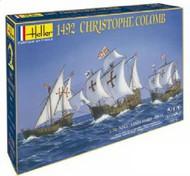Heller  1/75 1492 Christopher Columbus Sailing Ships: Santa Maria, Pinta & Nina w/Paint & Glue HLR52910