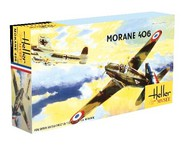 Morane 406C1 WWII French Fighter (60th Anniversary Ltd Re-Edition) #HLR80213