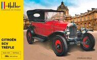 Heller  1/24 Citroen Trefle Type 5CV Vintage Car - Pre-Order Item HLR80702