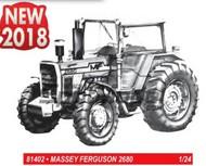 Heller  1/24  Massey Ferguson 2680 Farm Tractor - Pre-Order Item HLR81402