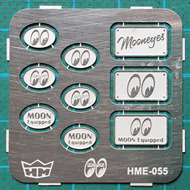 Mooneyes Car Club Plaques (various designs) #HMO55