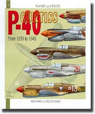 Histoire And Collections Books   N/A P-40 Curtiss HNC1003