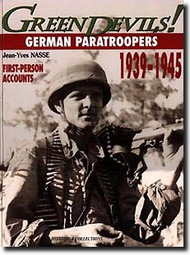 Histoire And Collections Books   N/A Collection - Green Devils: German Paratroopers 1939-45 HI629