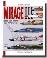 Histoire And Collections Books   N/A Mirage III From 1955 - 2000 HNC1006