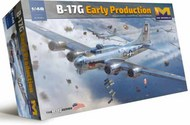 B-17G Early Production Flying Fortress Heavy Bomber #HKM01F001