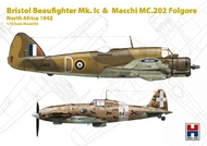 Bristol Beaufighter Mk.IC and Macchi C.202 #HOB272005