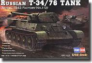 HobbyBoss  1/48 Russian T-34/76 (1942 No. 112) HBB84806