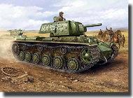 HobbyBoss  1/48 Russian KV1's Model 1941 Ehkranami Tank HBB84811