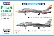 Grumman F-14A Tomcat Tomcat VF-1 Wolf Pack #HBB80279