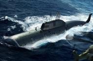 HobbyBoss  1/35 Ssn Akula Class Sub0 HBB83525