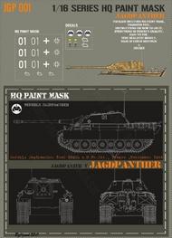HQ-Masks  1/16 Jagdpanther Stab 559th s.H.Pz.Abt. France September 1944 Paint Mask HQ-JGP16001