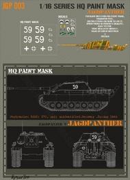 HQ-Masks  1/16 Jagdpanther unidentified unit Germany spring 1945 Paint Mask HQ-JGP16003