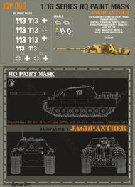 HQ-Masks  1/16 Jagdpanther 507th s.H.Pz.Abt. Germany Spring 1945 Paint Mask HQ-JGP16006