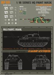 HQ-Masks  1/16 Jagdpanther unit unknown France late 1944 Paint Mask HQ-JGP16007