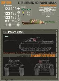 HQ-Masks  1/16 Jagdpanther 1/s.PzJg.Abt.654 Germany March 1945 Paint Mask HQ-JGP16008
