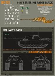 HQ-Masks  1/16 Jagdpanther s.Pz.Jg.Abt.654 Ruhr area Germany March 1945 Paint Mask HQ-JGP16012