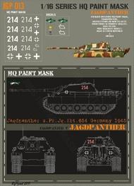 HQ-Masks  1/16 Jagdpanther s.Pz.Jg.Abt.654 Germany 1945 Paint Mask HQ-JGP16013