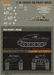 HQ-Masks  1/16 Jagdpanther 560th s.Pz.Jg.Abt. Hungary March 1945 Paint Mask HQ-JGP16021