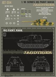 HQ-Masks  1/16 Sd.Kfz.186 Jagdtiger 2.Kompanie 512 s.Pz.Jg.Abt. Germany May 1945 Paint Mask HQ-JGT16004