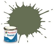 Humbrol  Humbrol Enamel 14ml. Enamel Matte Ocean Grey Tinlets (6) HMB106