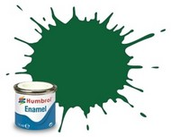 Humbrol  Humbrol Enamel 14ml. Enamel Matte Light Green Tinlets (6) HMB120