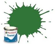 Humbrol  Humbrol Enamel 14ml. Enamel Satin Mid Green Tinlets (6) HMB131