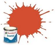 Humbrol  Humbrol Enamel 14ml. Enamel Satin Red Tinlets (6) HMB132