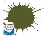 Humbrol  EnamelMetallic 14ml. Enamel Matte Dark Green Tinlets (6) HMB149