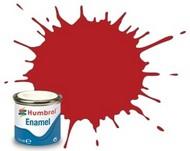 Humbrol  EnamelMetallic 14ml. Enamel Matte Insignia Red Tinlets (6) HMB153