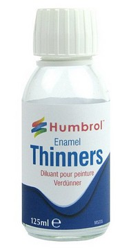 Humbrol  Thinner 125ml. Bottle Enamel Thinner HMB1631