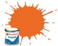 14ml. Enamel Matte Orange Tinlets #HMB46