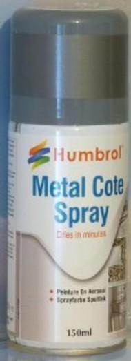 Humbrol  Humbrol Acrylic Spray 150ml Acrylic Metalcote Polished Steel Spray HMB6996