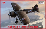 PZL P.11c Polish Fighter #IBG32001