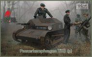 Pz.Kpfw. TKS (p) Tank w/Gun & 2 Crew (New Tool) #IBG35047