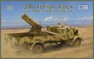 3Ro Italian Truck w/100/17 100mm Howitzer (New Tool) #IBG35053
