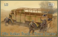 3Ro Italian Truck Troop Carrier (New Tool) #IBG35055