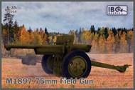 M1897 75mm Field Gun (French 75 in US Service) #IBG35058